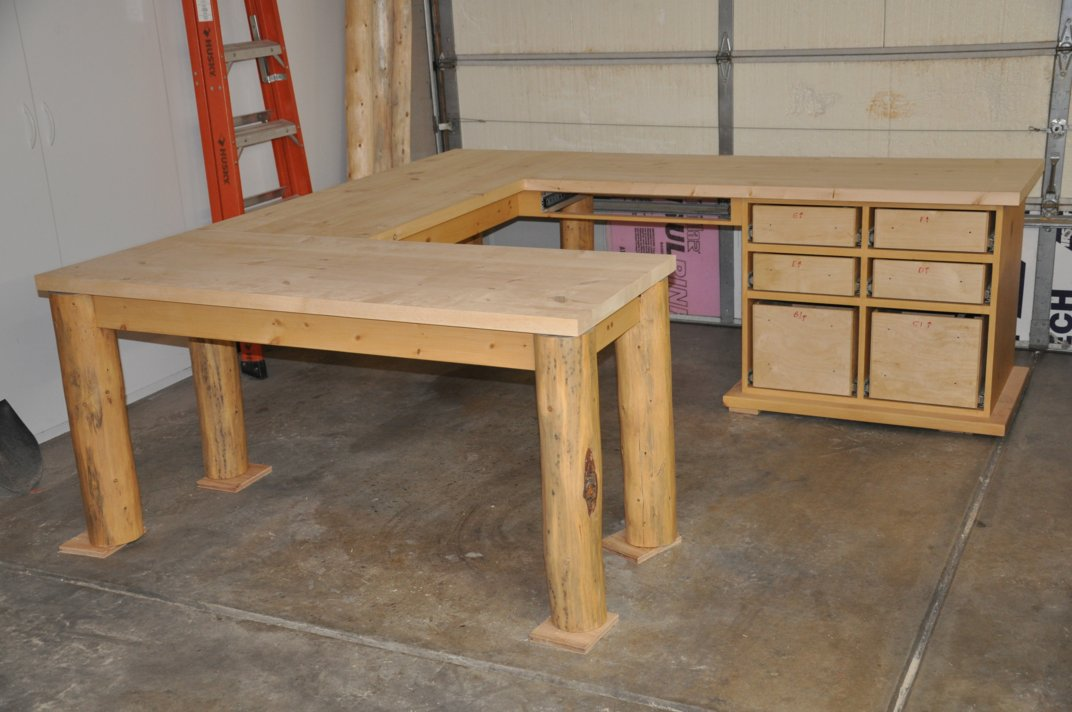 Woodwork Rustic Desk Plans Pdf Plans