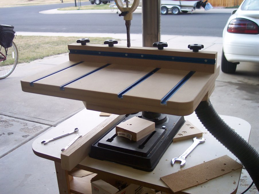 Drill Press Table Plans Pdf PDF Woodworking